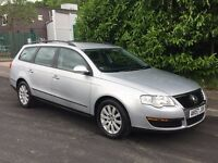 2007 57 VOLKSWAGEN PASSAT 2.0TDI DIESEL ESTATE MOT TILL MAY2018 HPI CLEAR DRIVES SUPERB LOW MILES VW