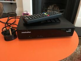 Manhattan HD S2 Freesat box