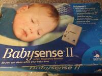 Baby breathing Respiratory monitor