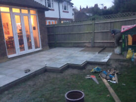Patio and paving
