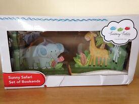 Sunny Safari Bookends