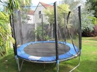 Trampoline - 8ft with safety surround.