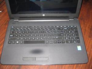 "HP laptop. 15.6"" HD Display. Intel. 8GB RAM. 128GB SSD. Wifi. WebCAM with Mic. HDMI. Windows 10. Speaker. Slim Computer"