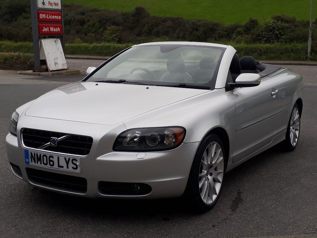 VOLVO C70 2.5 T5 SE LUX AUTO CONVERTIBLE, 2006, ONLY 63'000 MILES, VOLVO FSH, FULLY LOADED, SUPERB