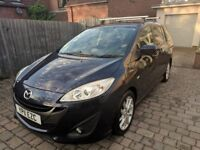 Mazda5 1.6D Sport 5dr Leather Heated Seats. Fully detailed, 2 new front tyres, great condition
