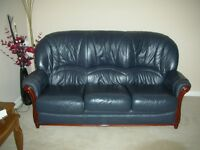 3 PEICE LEATHER SUITE