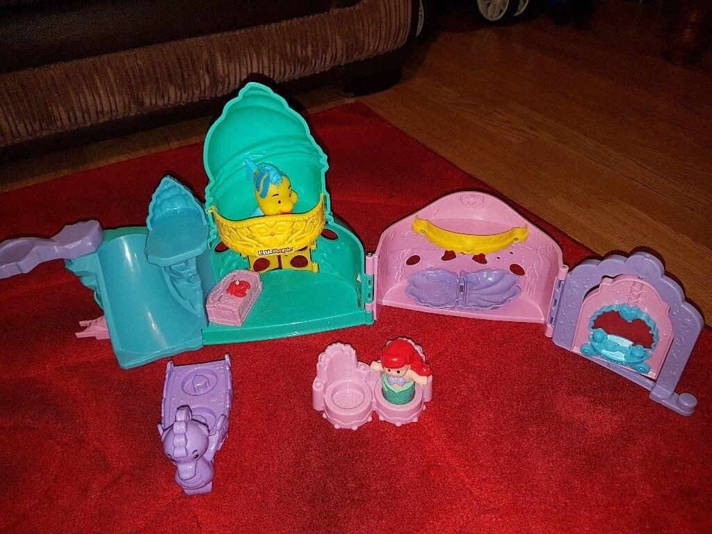 Little people little mermaid set