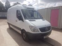 MERCEDES SPRINTER 311 CDI MWB FRIDGE/FREEZER (-25) 59REG