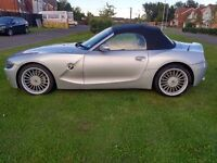 BMW Z4 ROADSTER CONVERTIBLE 2.2SE FSH LEATHER INTERIOR ELECTRIC ROOF (SWAP PX P/X PART EXCHANGE)