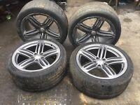 Audi Q7 4L S-Line 21inch alloy wheels original