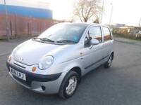 DEAWOO MATIZ 0.8ltr_5dr *** CAMBELT DONE - LOW MILES - FREE DELIVERY ***