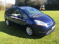 Citroen Grand C4 Picasso Diesel 7 Seater 2.0 HDi Exclusive Auto,CAMBELT DONE,2 keys,MOT september