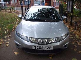 Honda Civic 1.8 i VTEC SE 5dr£4,100 NEW MOT, LOW MILES, FULL S/H 2009 (08 reg), Hatchbac 01162149247