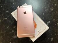 Apple iPhone 6s Rose Gold 16GB unlocked