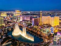2 flight tickets Manchester- Las Vegas, 2.Oct