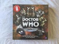 BRAND NEW Doctor Who DVD Board Game