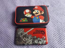 Nintendo 3DS Smash Bros Limited Edition + Games