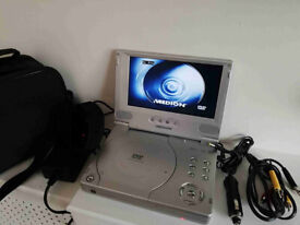 Medion Portable DVD Player 7""