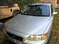 Volvo S60 VGC for year bullet proof mechanics black leather interior
