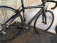 Pinarello carbon road bike (size small)