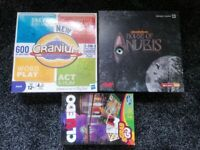 3 board games in excellent condition | Cranium, House of Anubis and Cluedo Grab&Go