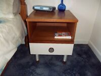 Two bedside cabinets for sale