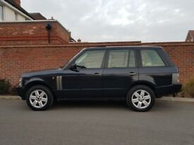 Land Rover Range Rover L322 4.4 Vouge (2002/02) + VERY HIGH SPEC + SAT NAV/TV + SUNROOF + XENONS +