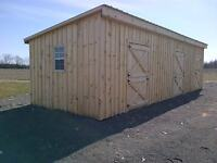 Horse Shelters, Mini-Stables and Hay Feeders