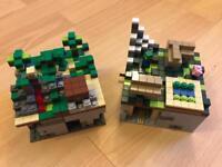 LEGO Minecraft Mini-worlds - Overworld & Farm