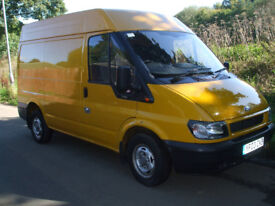 FORD TRANSIT 300 SWB SEMI HIGH ROOF VAN - EXCEPTIONAL CONDITION - VERY LIGHT USE ONLYlight use only