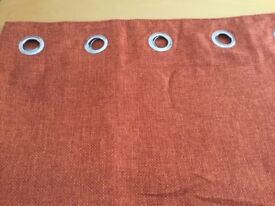 Next fully lined ring top curtains