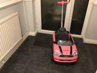 Mini Cooper child's car