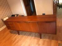 Retro rare vintage antique Sideboard unit like Gplan, VGC 60's Cabinet A.H. McIntosh & co ltd
