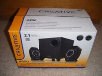 Creative A250 2.1 Desktop/Laptop PC Speakers.