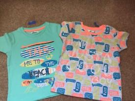 New short sleeve size 6-9 months