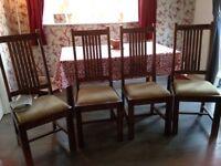 4 x Maharani Dinning Chairs from John Lewis