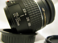 CANON LENS Ef 22-55 MM EXCELLENT CONDITION CAN DELIVER