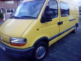 Renault master lwb excellent running order 12month mot