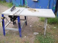 Elektra Beckum TKHS 315M Table Saw Rip Saw Single Phase(240volt)with side table
