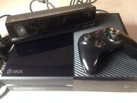 Xbox one with kinect controler and original box