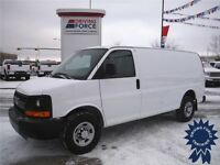 2013 Chevrolet Express Cargo Van - 37,139KM - Rear AUX heater