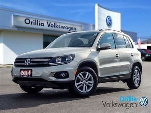2014 Volkswagen Tiguan BLUETOOTH, 4MOTION, HEATED SEATS