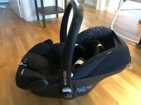 MAXI COSI (Pebble) - Car seat & Winter Foot Muff sleeping bag