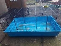 Indoor cage for rabbit or guinea pigs or hamsters
