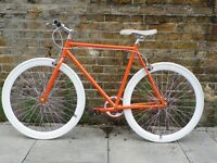 Special offer ! Xmas SALE !!! Brand new Fixie , fixed gear , single speed bike+ 1year warranty o
