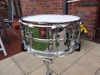 Premier snare drum for sale