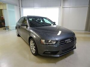 2013 Audi A4 2.0T Tiptronic Qtro Sdn * Cuir * Toit * Mags *
