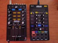 Akai Pro AMX and AFX Serato DJ Controllers