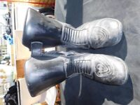 Leather Motorcycle Boots size 10