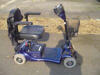 MONARCH MINI 4 MOBILITY SCOOTER FITS CAR BOOT REDUCED